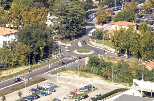 Rotonda ingresso Ospedale